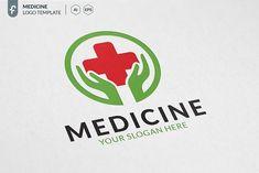 Medicine Logo by ft.studio on @creativemarket