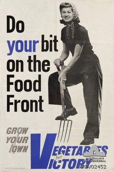 Once the call-to-action of governments during World War ll, victory gardening is making a comeback. Victory gardens in suburbia were created in Australia, Britain and the USA during WW ll as a solution to food shortages during the war.