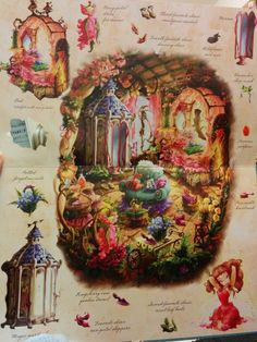 Inside rosetta fairy house