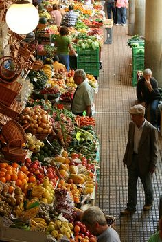 """Mercado dos Lavradores"" Traditional Market. More information about Madeira go to http://www.portobay.com/DestinationNode.aspx?areaId=492"
