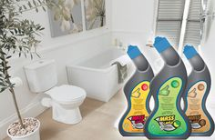 Keep your bathrooms smelling fresh, spotless and germ-free with Mass