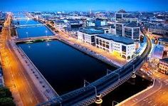 View top-quality stock photos of R Liffey Docklands Dublin Ireland. Find premium, high-resolution stock photography at Getty Images. Moving To Ireland, Dublin Ireland, Trinity College Dublin, Stock Photos, City, Outdoor Decor, Photography, Image, Photograph