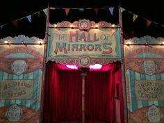 Hall of Mirrors Circus Aesthetic, Dark Circus, Circus Art, Hall Of Mirrors, Mirror Mirror, Velma Dinkley, Jerome Valeska, Carrousel, Night Circus