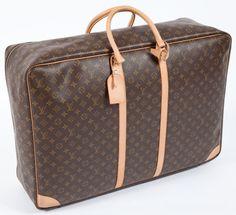 Travel/Trunks, Louis Vuitton Classic Monogram Canvas Sirius 70 Suitcase