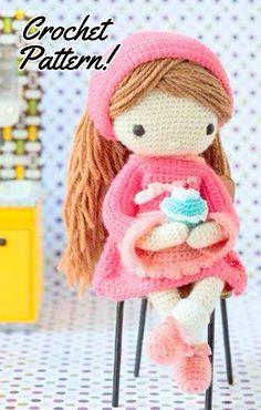 Doll Crochet pattern, Doll amigurumi Pattern, Amigurumi Doll  Crochet, Doll crochet pattern, Doll crochet, Doll amigurumi, crochet Doll  Amigurumi, Doll crochet toy, Doll amigurumi doll,    #crochetdoll #crochetpattern #amigurumi