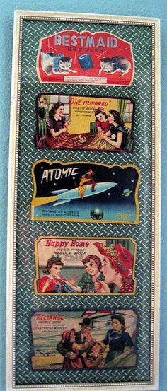Vintage needle books by treasureup, via Flickr