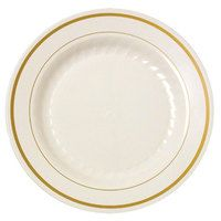 Fineline Savvi Serve 306 6  Clear Plastic Plate - 240/Case   Plastic plates Wedding and Reception  sc 1 st  Pinterest & Fineline Savvi Serve 306 6