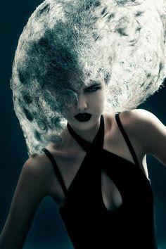 Sanne Grasdijk - Fashion Photography - Fantasy - Dark - Conceptual - Avant Garde - Hair