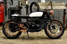 "Kott Motorcycles Vintage Honda CB Series Cafe Racer "" The Patina """
