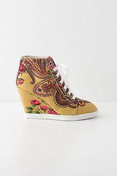 Tearoom Wedge Sneakers