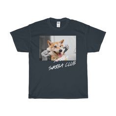 we are here designing this cool t-shirt as a way to show our love to the Shiba-Inu Community. Tag us on instagram @shibashibaclub with #shibashibaclub :) Book Yours Now! This heavy cotton tee has the classic cotton look and feel. Casual elegance will make it an instant favorite in everyone's wardrobe. .: Classic fit .