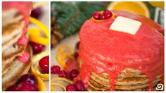 Blendtec Recipe - Cranberry-Orange Pancakes