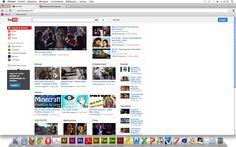 Goede website 3  Vormgeving - De vormgeving laat direct zien dat het een site is voor video's, door de vele video's  die te zien zijn. Door de achtergrond wit te maken is het niet onoverzichtelijk of druk. Navigatie - Heel duidelijk aan de linkerkant en de zoekbalk is ook goed te vinden. Informatie - Is niet nodig, iedereen kent Youtube.