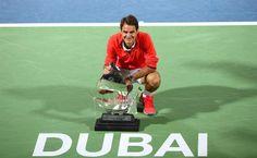 Federer - Dubai Duty Free Tennis Champion 2014 (Dubai, U.A.E.)