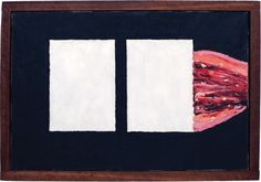 Forrest Bess: Untitled (No. 12A), 12 x 18 inches, 1957