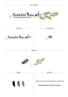 sinnenrausch on Behance design, logo, typography, stylesheet Typography, Lettering, Your Design, Initials, Blog, Branding, Graphic Design, Behance, Board