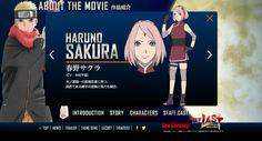 The last Naruto the Movie  Naruto dan sakura tergabung di team 7, sakura adalah gadis pertama yang dicintai oleh naruto, namun menurut saya cintanya naruto lebih pantas diberikan ke hinata  http://sifandy.com/