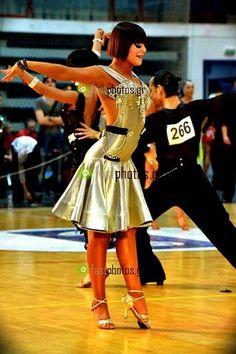 Erica Di Maria e Shon Burshteyn! #RossoLatino #testimonial #danceshoes #WDSF