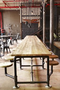 Amazing coffee bistro in Cape Town with Steampunk interior - TRUTH Coffeecult | http://www.truthcoffee.com/