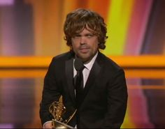 So awesome that he won the Emmy!  My favorite character of the show