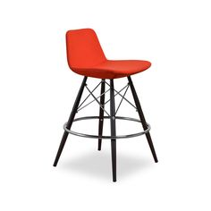 Pump up the chic style of your kitchen with the Christine-1 Counter Stool. Perfect for happy hour at home, this comfortable seat is designed with an industrial vibe echoed in the crossed dowel design o...  Find the Christine-1 Counter Stool - Set of 2, as seen in the Counter Stools Collection at http://dotandbo.com/category/furniture/stools/counter-stools?utm_source=pinterest&utm_medium=organic&db_sku=97969