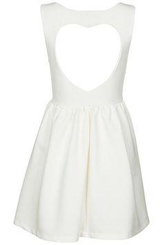 Cut-out Heart White Dress = $48.99