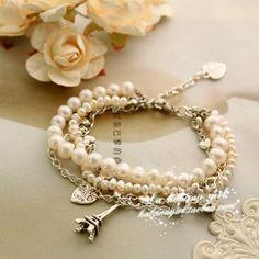 Pearls n the Eiffel Tower