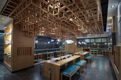 Dacong's Noodle House by Swimming Pool Studio