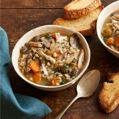Slow Cooker Chicken and Barley Soup