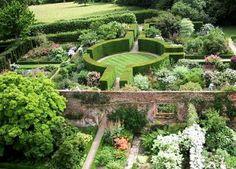 Sissinghurst Castle - Vita Sackville-West's Elizabethan home, noteworthy as the location of the first all-white garden, Vita's design.
