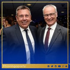 The masterminds...  #lcfc #havingaparty by lcfc