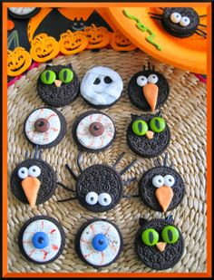 HALLOWEEN-IDEAS CON GALLETAS OREO
