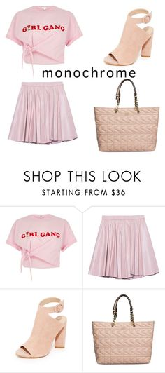 """pink"" by jeonayla on Polyvore featuring River Island, 2NDDAY, Kendall + Kylie and Karl Lagerfeld"