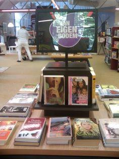 Wat zijn er veel mooie nieuwe Nederlandse boeken. In Sprang-Capelle is de 'van eigen bodem' tafel een succes.