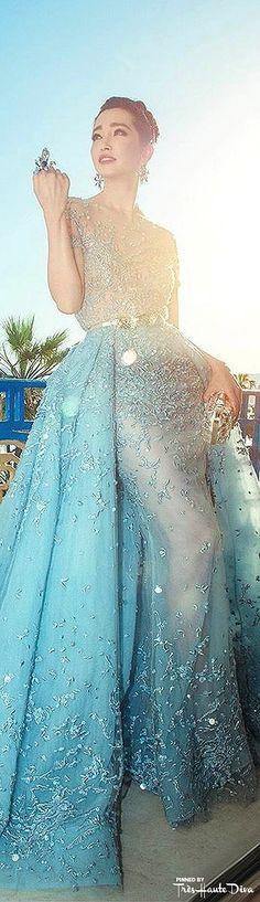 Li Bingbing in Zuhair Murad Spring 2015 Couture ♔ #Cannes2015 Red Carpet ♔ Très Haute Diva ♔