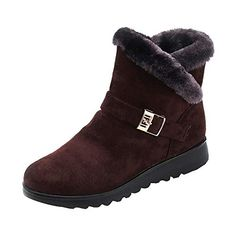 970a32d5cfca GIFC Fashion Women s Winter Ankle Short Snow Boots Fur Ladies Footwear Warm  Shoes