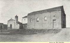 A antiga igreja das Perdizes, em 1916