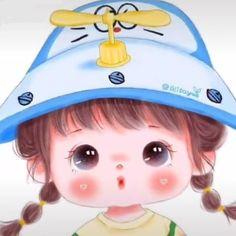 Cute Cartoon Drawings, Cute Cartoon Girl, Cartoon Girl Drawing, Decor Crafts, Craft Decorations, Easter Crafts, Abs, Wallpaper, Anime