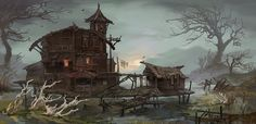 Boghouse by AnDary on DeviantArt