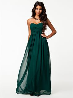 'Dreamy' Sleeveless Dress (Green) | NLY Trend