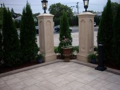 Update your business' curb appeal with a pavingstone patio and walkway.