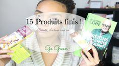 15 Produits finis ( beauté, lecture ) I GO Green!