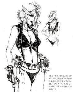 Metal Gear Solid 5 - Quiet Concept