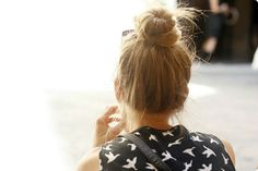 top knot ♥