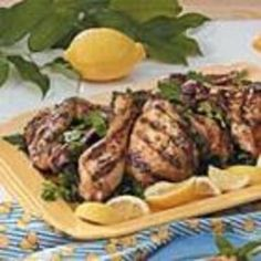 Art #recipe #food #cooking Lemon Grilled Chicken food-and-drink