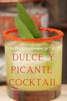 Sweet and Spicy is the perfect name for cocktail featuring tequila pineapple and jalapeño. Spice up taco night or enjoy brunch with this boozy kicker that's bursting with flavor and has just enough heat! Sweet and Spicy is the perfect name for c Winter Cocktails, Fun Cocktails, Mezcal Cocktails, Picante Recipe, Best Cocktail Recipes, Drink Recipes, Hot Buttered Rum, Exotic Food, Sweet And Spicy