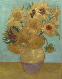 off Hand made oil painting reproduction of Vase With Twelve Sunflowers II, one of the most famous paintings by Vincent Van Gogh. In Vincent Van Gogh was waiting for the arrival of his friend . Art Van, Van Gogh Art, Van Gogh Pinturas, Vase With Twelve Sunflowers, Van Gogh Sunflowers, Vincent Van Gogh, Most Famous Paintings, Famous Artwork, Famous Flower Paintings