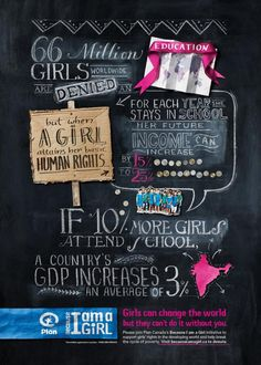 Plan Canada, Because I am a Girl: About a girl, 1