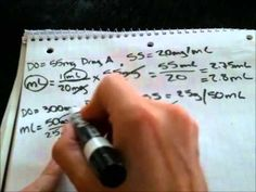 Dosage Calculation - Everything you need to know!
