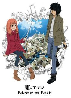Eden of the East - Anime-Kage.Net - Anime, manga si desene in romana Anime Watch, All Anime, Me Me Me Anime, Manga Anime, Anime Eden, Paradise Lost Movie, Akira, Die Simpsons, Drame
